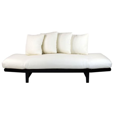 Lounger sofa bed walmartcom for Bed lounge pillow walmart