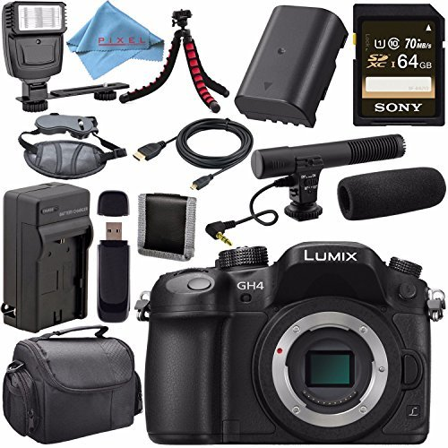 Panasonic Lumix DMC-GH4 Digital Camera (Body Only) DMC-GH...