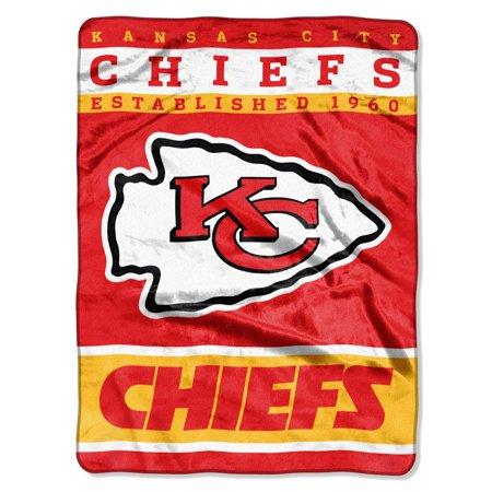 "Kansas City Chiefs 60""x80"" Royal Plush Raschel Throw Blanket"