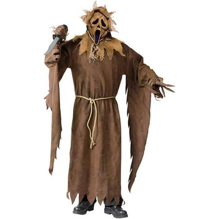 Fun World Scarecrow Ghost Face Adult Halloween Costume