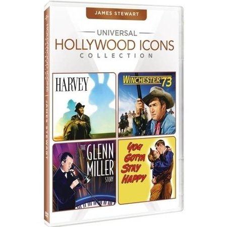 Universal Hollywood Icons Collection  James Stewart   Harvey   Winchester 73   The Glenn Miller Story   You Gotta Stay Happy
