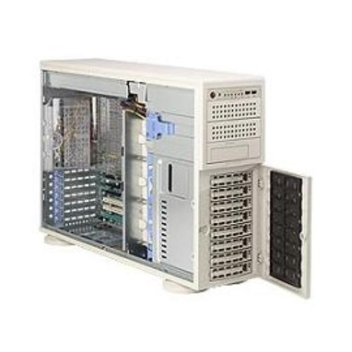 Supermicro 81512 Case Tower4u Dual 800w 8sata/sas Hot Swap Hdd Rev K Retail