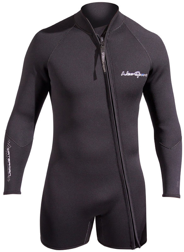 7mm Men's NeoSport SCUBA Step-In Wetsuit Jacket by Neosport