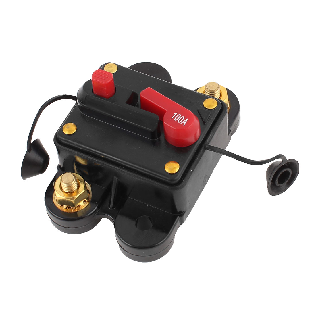 Plastic Shell 100A Car Audio Stereo Inline Power Circuit Breaker