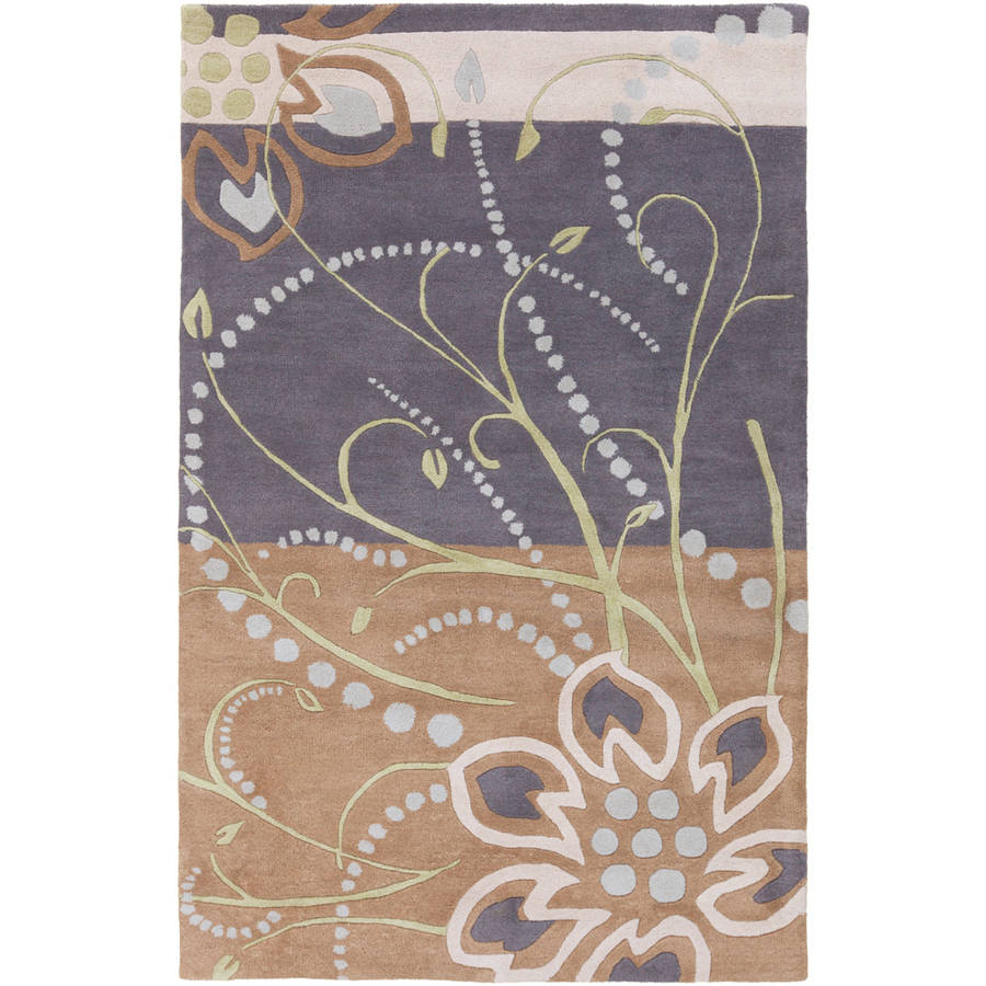 Art of Knot Alocasia Area Rug