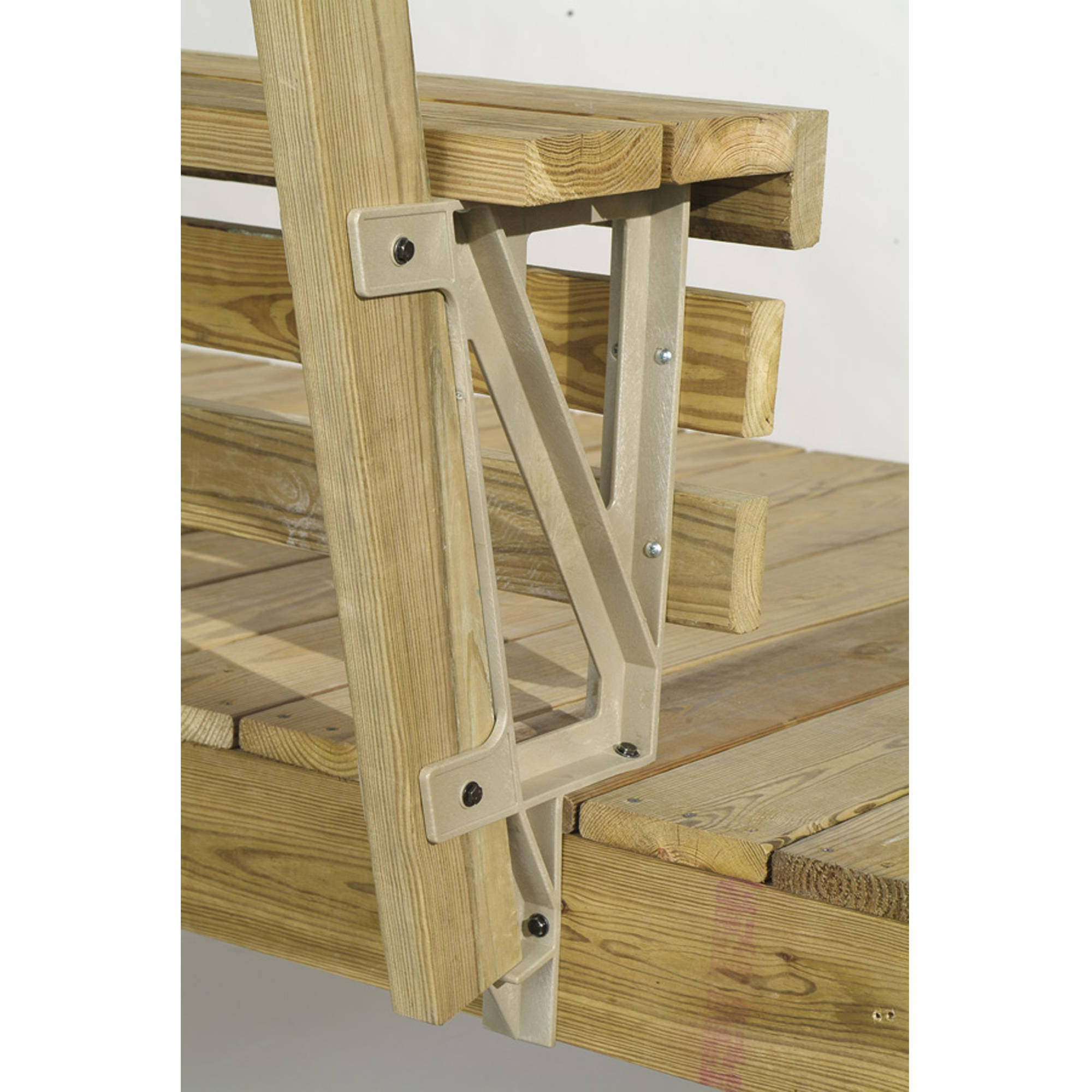 Image of 2x4 Basics Dekmate Bench Bracket, 2-Pack
