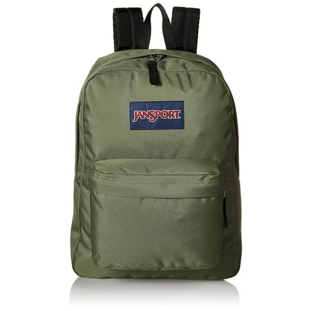 SuperBreak Backpack (Muted Green), Fabric By JanSport From USA