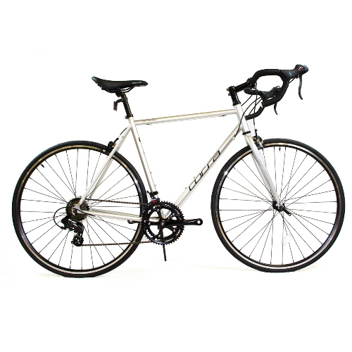 Road Bike by Corsa - 22.8'' Chrome Silver R14