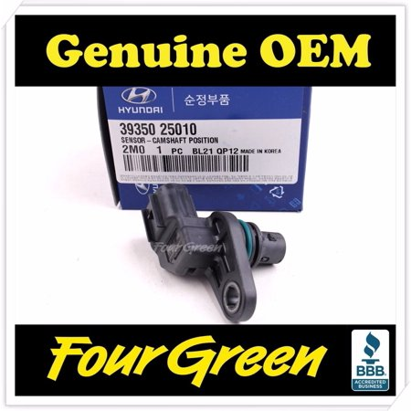 FOURGREEN AUTO PARTS Genuine Camshaft Position Sensor For 06-13 Hyundai Kia 2.0L 2.4L OEM[3935025010] - Genuine Hyundai Parts