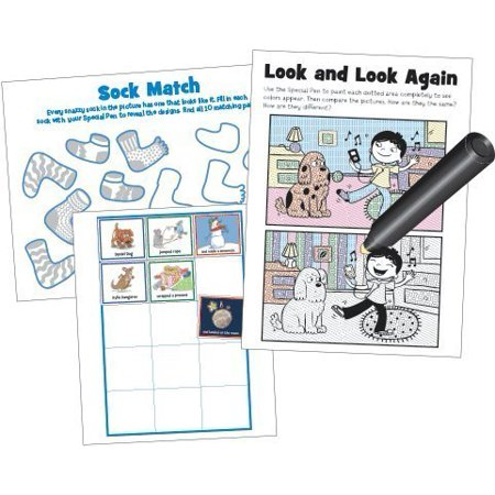Lee Publications Magic Pen Painting - Highlights 'Puzzle Fun' - image 1 of 2