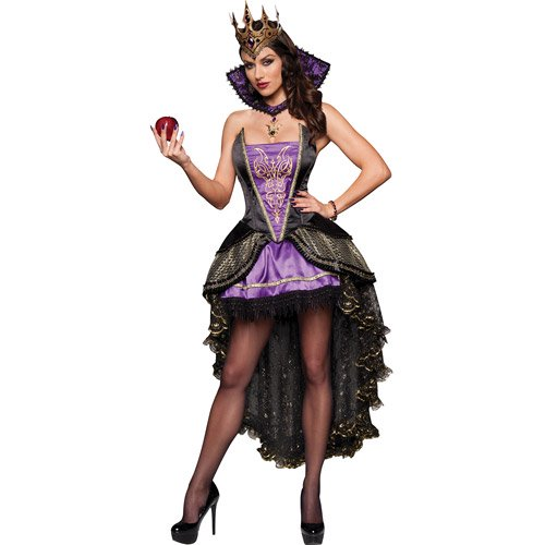 Evil Queen Adult Halloween Costume  sc 1 st  Walmart : evil halloween costume  - Germanpascual.Com