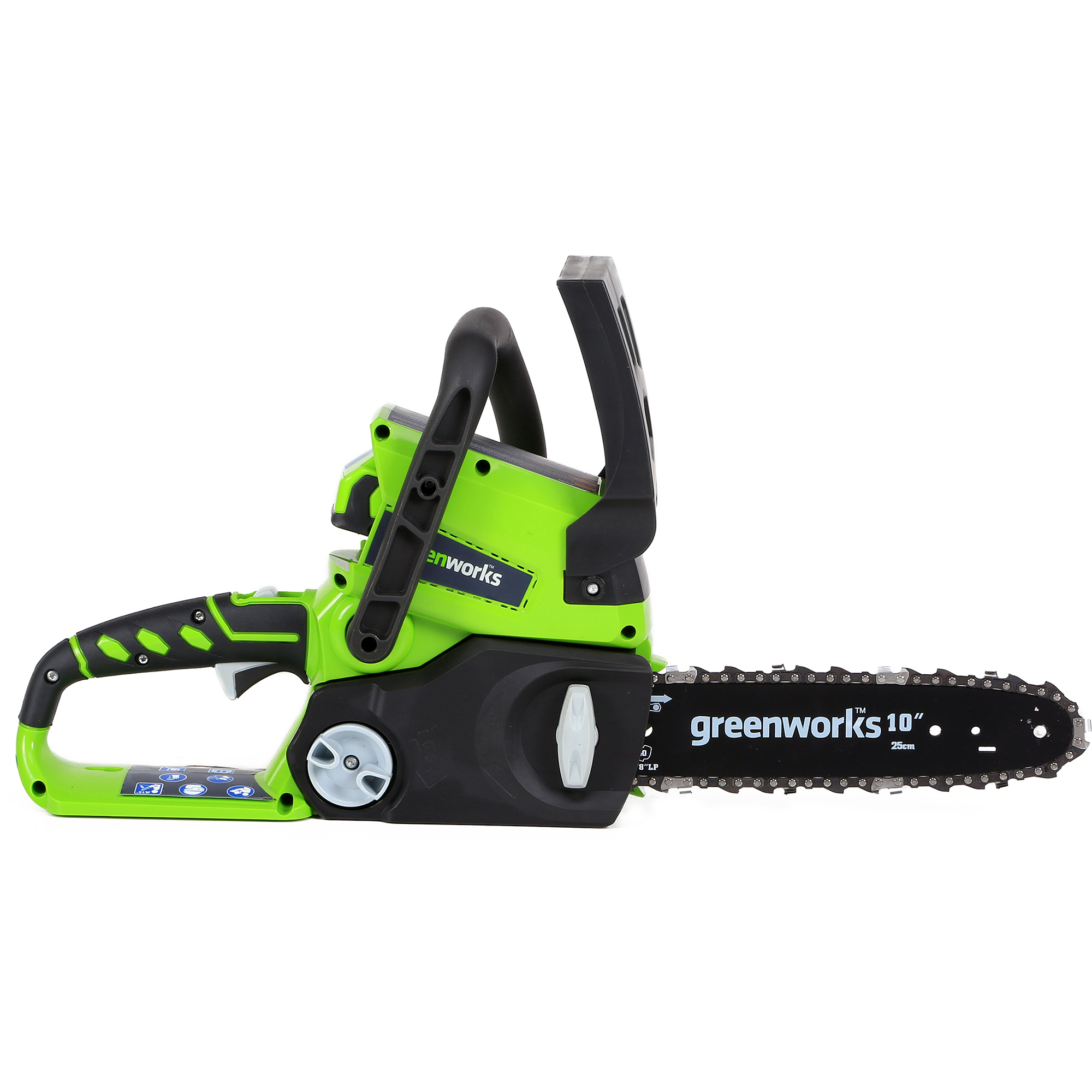 "GreenWorks G-24 10"" 24V Cordless Chainsaw, Tool Only"