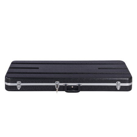 ABS Electric Guitar Case Molded Case for Telecaster, Stratocaster Style Hard-Shell Electric Guitar Case with Lockable Latch