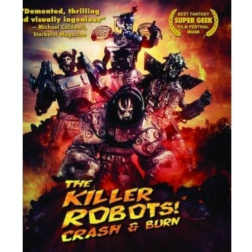 The Killer Robots: Crash And Burn (Blu-ray) AVMBRLS15552