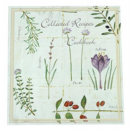 Meadowsweet Kitchens Collected Recipes Cookbook, Botanical Treasures design
