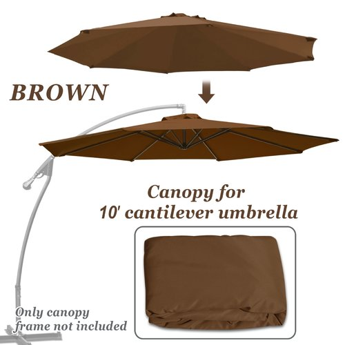 Freeport Park Celine Patio Umbrella Replacement Cover