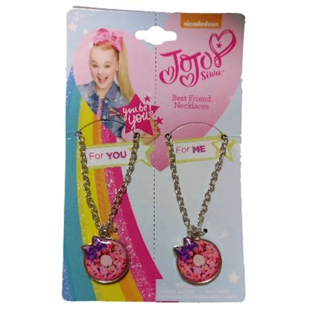 JoJo Siwa Best Friends Necklace Set (Pink Donuts)