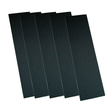 5 SHEETS OF BLACK CHEAP GRIP TAPE for your