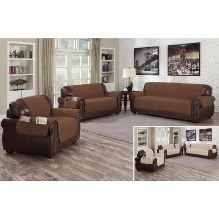 Quick fit slipcovers quick fit liza reversible waterproof for Reversible waterproof furniture covers