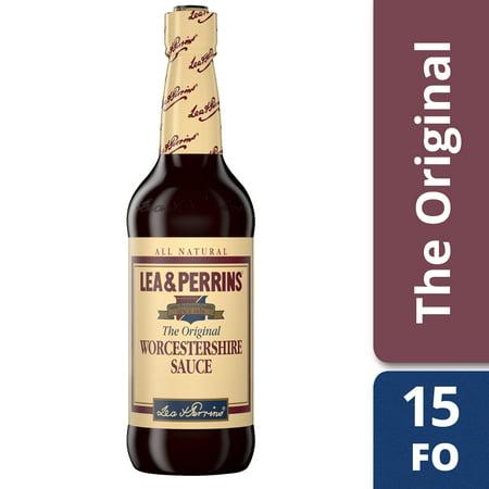 Lea & Perrins Worcestershire Sauce, 15 fl oz Bottle