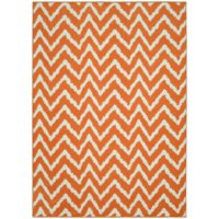 Mainstays Distressed Zig Zag Indoor Area Rug; Available in Multiples Sizes and Colors