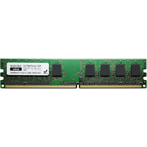Wintec Value 1GB DDR2 PC5300 DIMM Desktop Memory