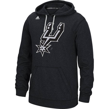 Adidas San Antonio Spurs Quick Draw Climawarm Hoodie (Gray) by