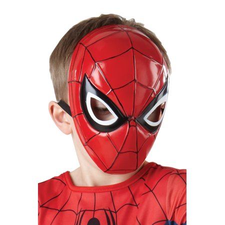 Ultimate Spider-Man Molded Child Mask](Spiderman Mask Replica For Sale)