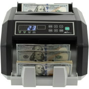 Back Load Bill Counter with 3 Phase Counterfeit Detection
