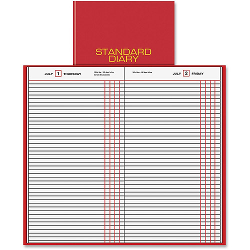 At-A-Glance Nonrefillable Standard Daily Journal