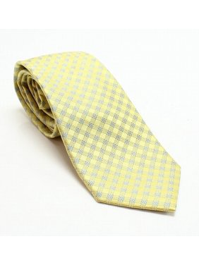 a652063fd6b2 Product Image Michael Kors Gingham Silk Woven Men's Dress Code Neck Tie.  Michael Kors Ties