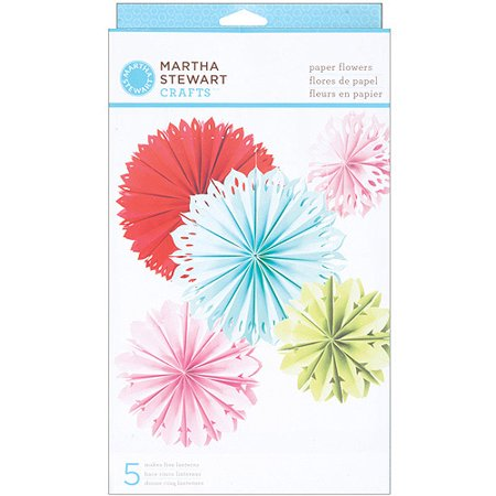 Martha Stewart Modern Festive Paper Flowers Kit for $<!---->