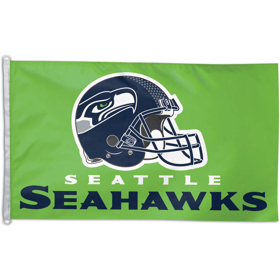 NFL Seattle Seahawks Team Flag, 3' x 5'