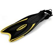 Cressi Palau Adjustable Snorkeling Fins, YL-ML