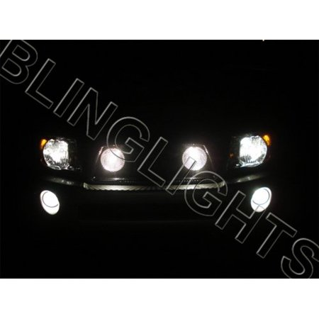 Toyota Tacoma Behind the Grille Lamps Driving Fog Lights Kit Grill Off Road Auxilliary Lighting
