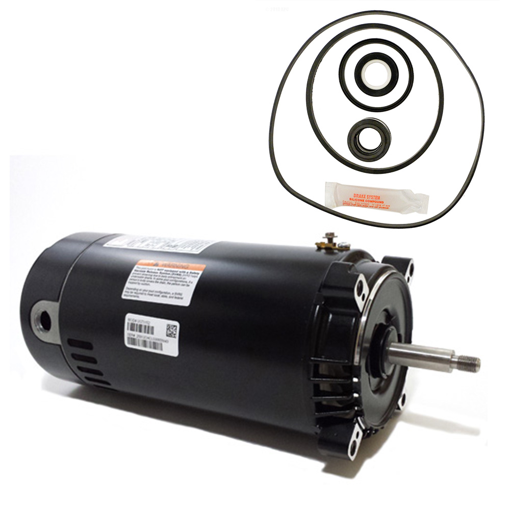 Hayward Max-Flo 1.5HP SP2810X15 Replacement Motor Kit AO ...