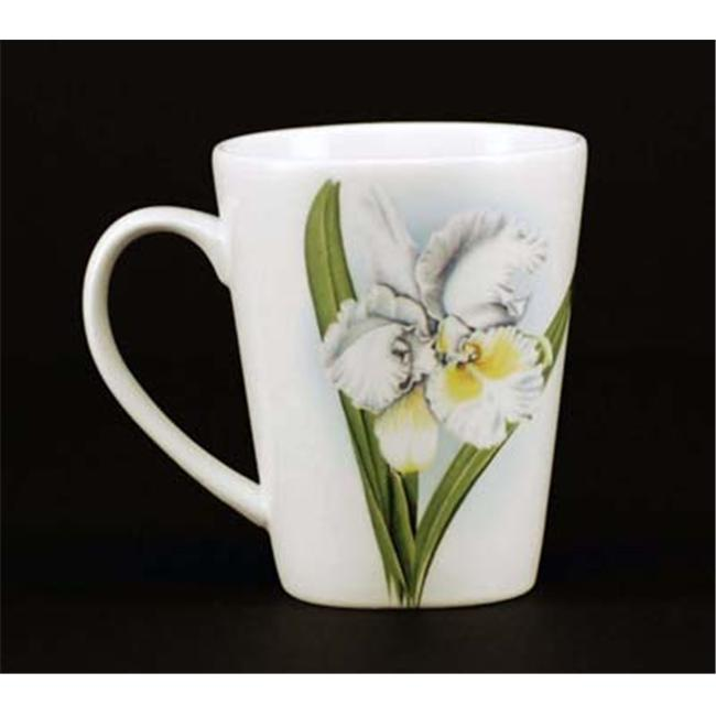 Euland China FL1-001WO Set Of Two 12-Ounce Mugs - Wild Orchid