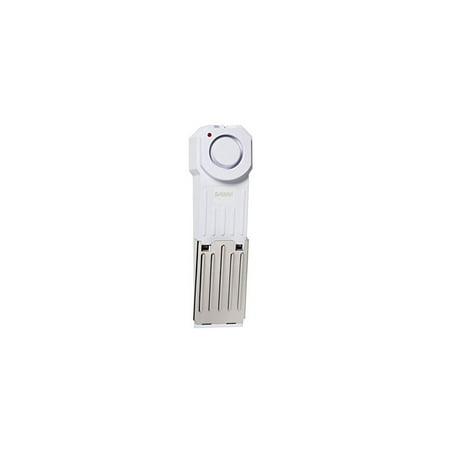 SIRE Wedge Door Stop Security Alarm with 120 dB Siren - Great for Home, Travel, Apartment or Dorm