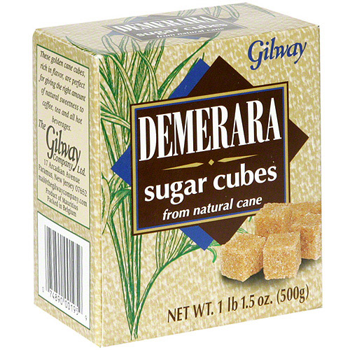 Gilway Demerara Sugar Cubes, 17.6 oz (Pack of 10)
