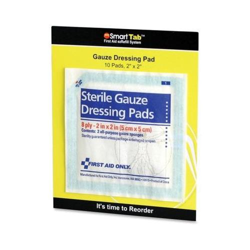 First Aid Only Sterile Gauze Dressing Pads FAOFAE5000