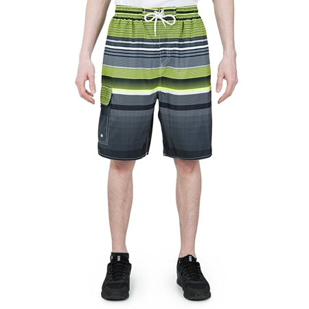 dbab4a262b North 15 - North 15 Men's Board Beach Swim Trunks Shorts with Cargo  Pokcet-7150-Lm-L - Walmart.com