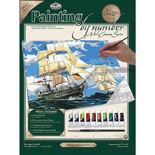 """Paint By Number Kits, 11"""" x 14"""""""
