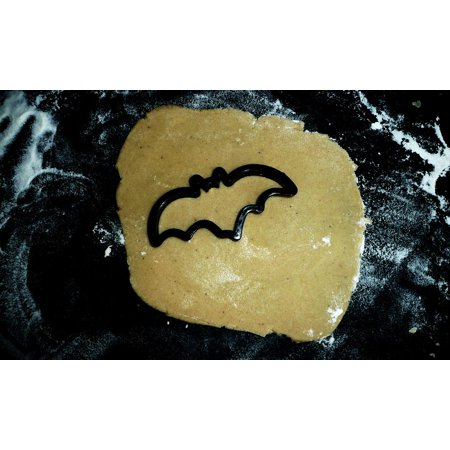 LAMINATED POSTER Baking Halloween Bat Pastry Black Molds Poster Print 24 x - Cute Halloween Pastries