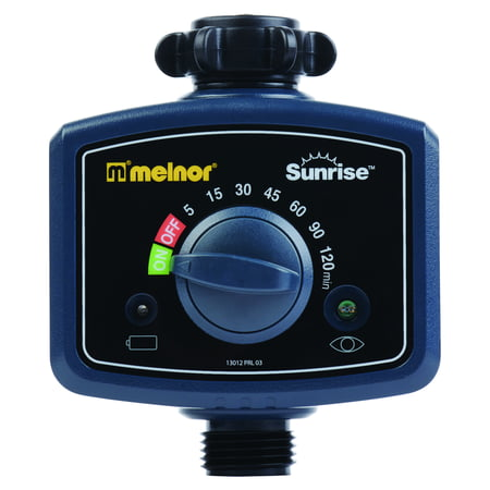 Melnor Water (Melnor Sunrise Morning Water Timer - Automatically Water Your Lawn and Garden When Sun Rises, 1 pc)