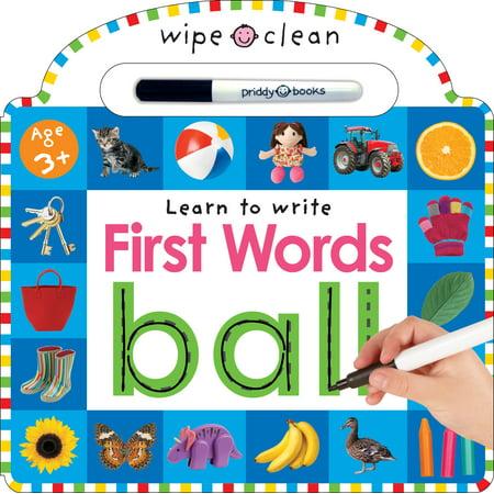 Wipe Clean 1st Words (Board Book)](Halloween Word Find First Grade)