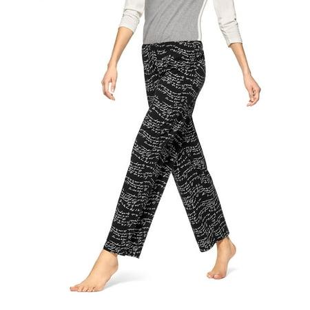 Wavy Script Pajama Pants