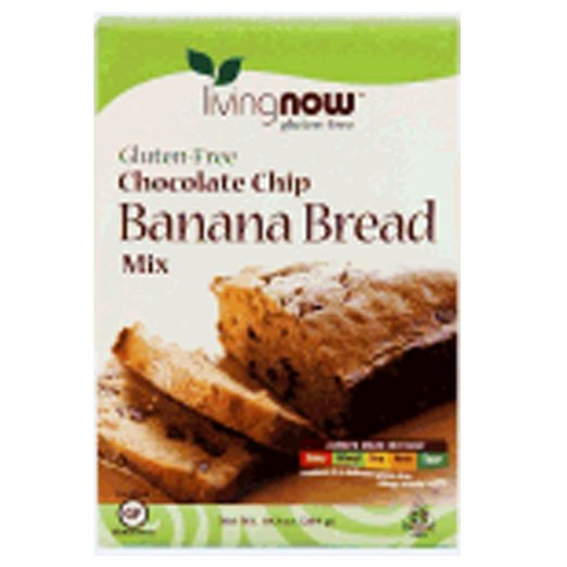 Now Foods Gf Choc Chip Banana Bread Mix 10.2 Oz (Pack Of 4)