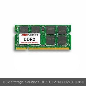 OCZ Storage Solutions OCZ2M8002GK equivalent 1GB eRAM Memory 200 Pin  DDR2-800 PC2-6400 128x64 CL6 1.8V SODIMM - DMS