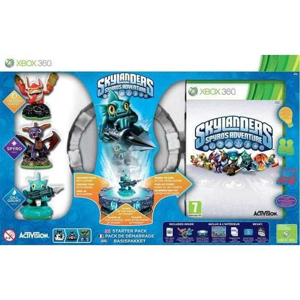 Skylanders Spyro S Adventure Starter Pack Xbox 360 English Spanish Walmart Com Walmart Com