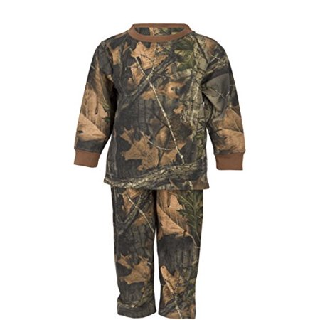 Infant - Toddler Cotton Camo Long Sleeve T-Shirt and Long Pants Set